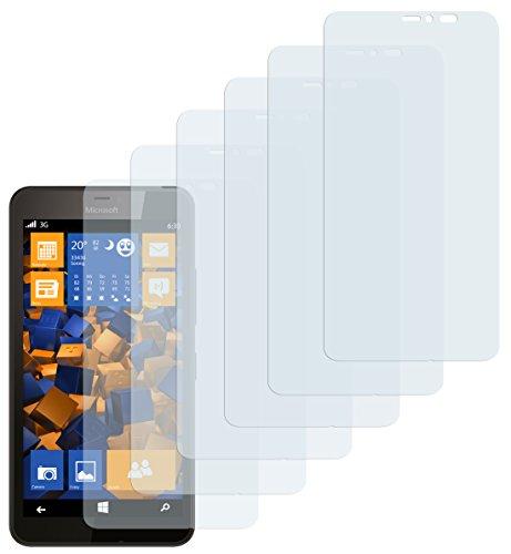 6 x mumbi Schutzfolie Microsoft Lumia 640 XL Folie Displayschutzfolie