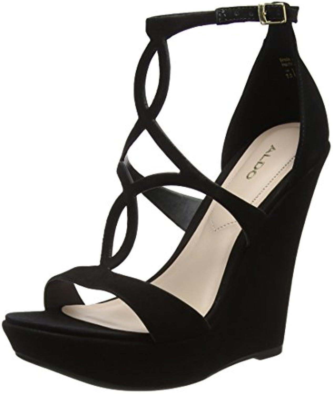 ALDO Plateforme Unelinia, Escarpins à Plateforme ALDO Femme, Noir (Jet Black 93), 37 EUB00HFQRD66Parent a4e3cd
