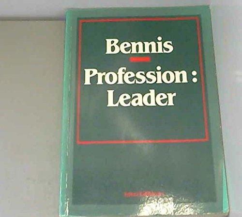 PROFESSION LEADER par Warren Bennis