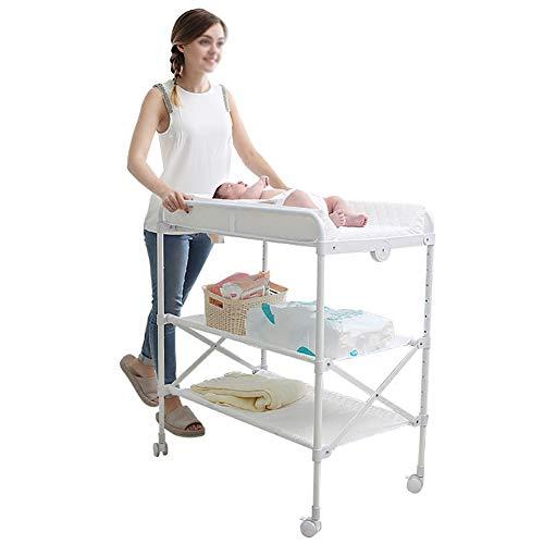 Tables à langer Pliable Multi-Fonction Portable Soins du Bébé Nouveau-né Bain Massage Opération Bébé Touch