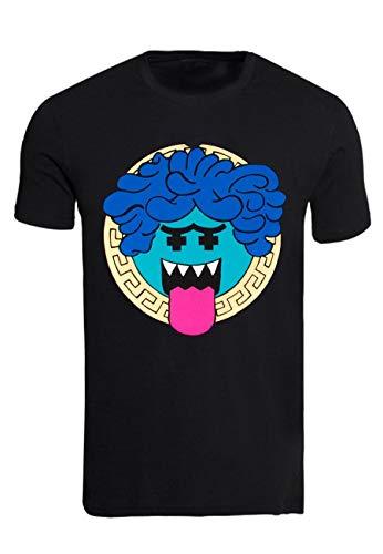 Pink Dolphins - Tee Shirt Crasy Versace - Noir - S 6af16730729