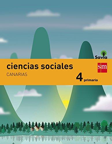 Ciencias sociales. 4 Primaria. Savia. Canarias - 9788467575576