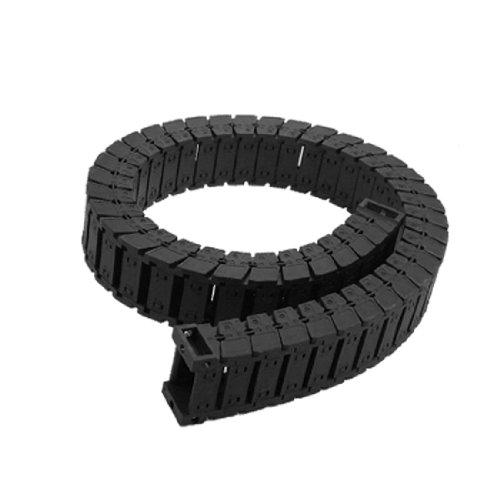 En plastique Blanc 25 x 38 x R75–Chaîne porte-câble de frein
