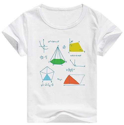 CALVINSUIT Jungen Mädchen Funktions T-Shirt Kinder Coole Freizeithemd Unisex Kurzarm Sommer T Tops