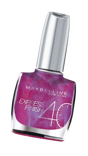 Maybelline Express Finish Nail Polish 10ml - 250 Violet Profond -