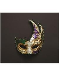 Adults Arnaldo Masquerade Decorated Ballroom Xmas New Year Fancy Dress Eyemask