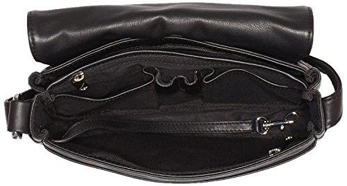 BREE  Lady Top 11, Sacs portés main femme Noir - Noir (noir 900)
