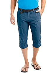 maier sports–Pantalones para hombre 3/4jennisei, primavera/verano, hombre, color Azul - azul, tamaño 48