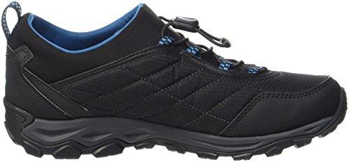 Merrell Herren Ice Cap 4 Strech Moc Trekking-& Wanderstiefel Blau (Black/mykonos Blue)