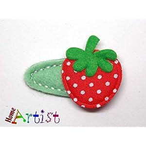 Baby Haarspange Erdbeere