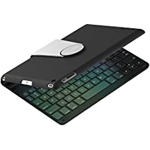 iPad Teclado, JETech Bluetooth Teclado Inalámbrico Funda Case con Rotación de 360 Grados y Multi-Angel Soporte para Apple iPad 2/3/4 - 2010