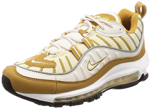 Nike Air Max 98 SizeMap, Phantom/Wheat/Reflect Silver/Beach, 42 EU -