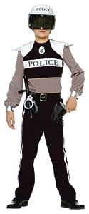 Caritan - Costume - Panoplie Policier - 5-7 ans [Emballage « Déballer sans s'énerver par Amazon »]