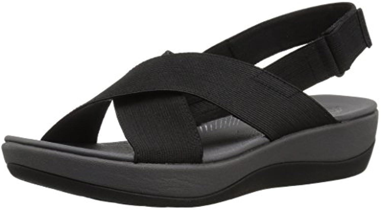 Clarks Wouomo Arla Arla Arla Kaydin Sandal, nero Elastic Fabric, 6 Wide US | Stile elegante  a0b3bc