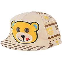 Kids Baby boy and Baby Girl Summer Cartoon Soft Cotton Printed Adjustable Stylish Trendy Latest Designer Cap/hat (0-12 Months)