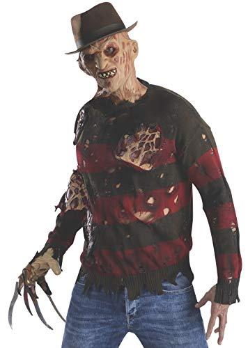 Freddy Krueger Pullover mit Latexwunden, Größe:XL