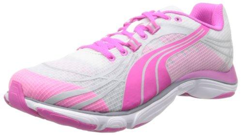 Puma Mobium Elite V2 trasparente scarpa da running (White/Fluo/Magenta)