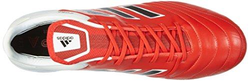 adidas Copa 17.1 Fg, Scarpe da Calcio Uomo Rosso (Red/c Black/ftw White)