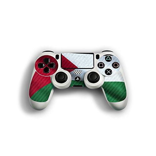 """Sony Playstation 4 Controller Designfolie """"Palästina Flagge"""" Skin Aufkleber für Playstation 4 Controller (PS4)"""