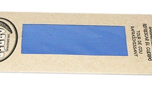 Cobber Hals Wrap, Azurblau