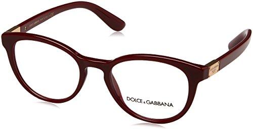 Brillen Dolce & Gabbana DG 3268 BURGUNDY Damenbrillen