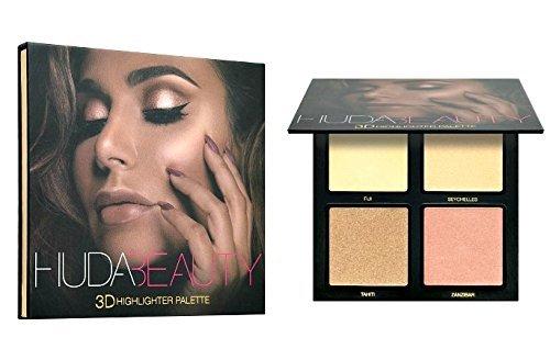 The Huda Beauty 3D Highlighter Palette - Golden Sands