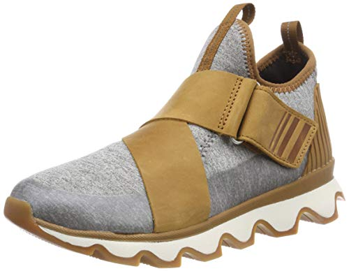 Sorel Damen Kinetic Sneak Sneaker, braun (camel brown)/grau (sea salt), Größe: 39 -