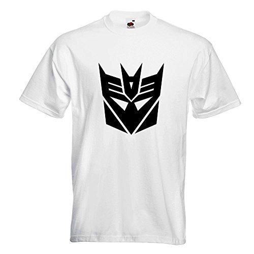 KIWISTAR Transformers Decepticons TShirt in 15 verschiedenen Farben Herren  Funshirt bedruckt Design Sprüche Spruch Motive Oberteil Baumwolle Print  Größe ...