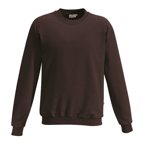 HAKRO Sweatshirt Performance - 475 - chocolate - Größe: 6XL