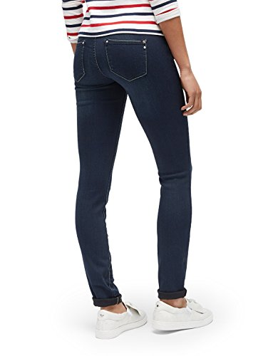 TOM TAILOR Damen Jeans Feminine Slim Alexa Dark Blue Dark Blue Denim