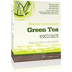 Olimp Green Tea Extrakt- Blister Box 60 Kapseln, 1er Pack (1 x 22,8 g)