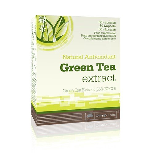 Olimp Green Tea Extrakt- Blister Box 60 Kapseln, 1er Pack ( 1 x 22,8 g)