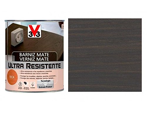 Barniz interior wengué mate V33 750 ml