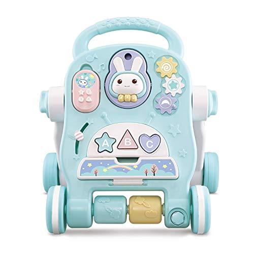 LFY Walker Musicale Multifunzionale, velocità di Regolazione Personalizzabile per Carrello per Bambini