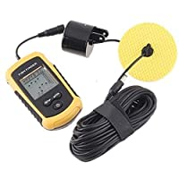 Portable Sonar Sensor Fish Fishing Finder Alarm Transducer with retail color package H1863