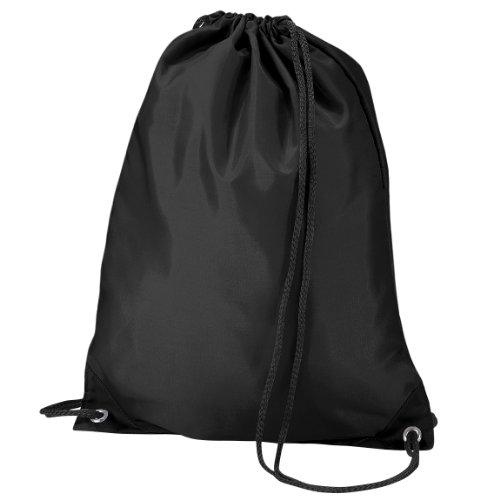Imagen de quadra   saco o de cuerdas impermeable/resistente al agua modelo gymsac deporte/gimnasio 7 litros  talla única/negro