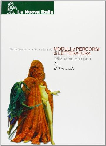 Moduli e percorsi di letteratura italiana ed europea. Per gli Istituti professionali: 2