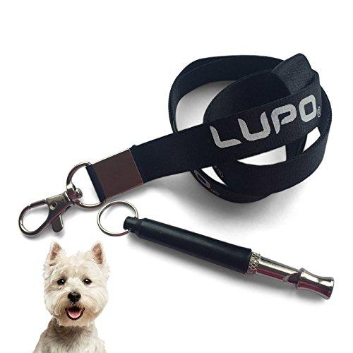 LUPO® Silbato Para Perros Premium Para Que Dejen De Ladrar Obediencia Repelente Ayuda Entrenamiento Mascotas Con cordón