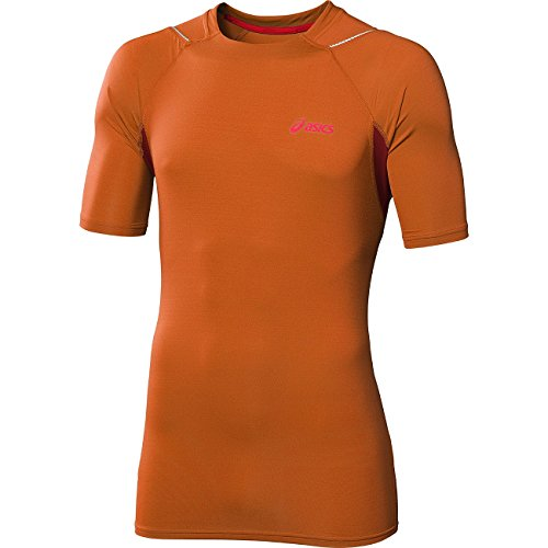 ASICS RACE Kurzarm Laufen T-Shirt Orange