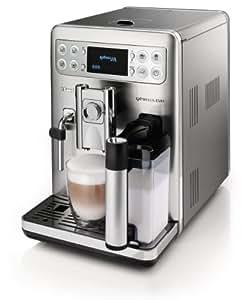 Saeco HD8857/01 Exprelia Kaffeevollautomat (selbstreinigender Milchbehälter) Edelstahl