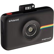 Polaroid SNAP Touch - Cámara digital con impresión instantánea y pantalla LCD (negro) con tecnología Zero Zink