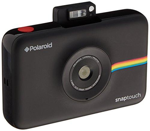 Polaroid-Schnappschuss-Sofortdruck-Digitalkamera mit LCD-Display (Schwarz) mit Zink Zero Ink Drucktechnologie (Touch Polaroid)