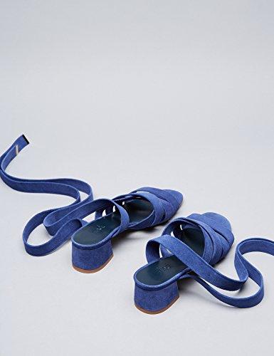 Trovare Sandali Con Tacco Donna Blu (blu)
