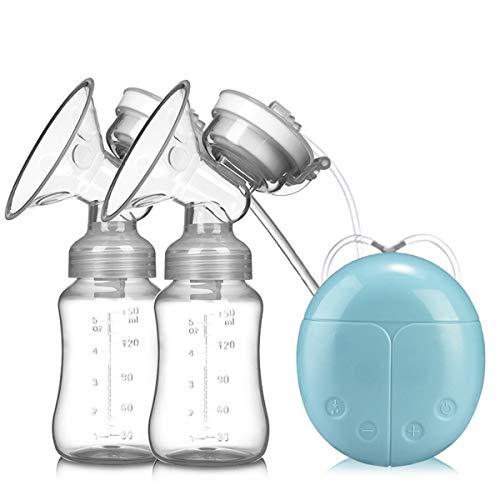 YLET Bilaterale Milchpumpe Elektrische Milchpumpe Milchpumpgerät,Blue-OneSize - Flasche Sterilisator Kit