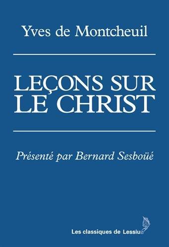 Leons sur le Christ