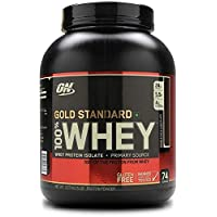 Optimum Nutrition (ON) Gold Standard 100% Whey Protein Powder - 5 lbs, 2.27 kg (French Vanilla)