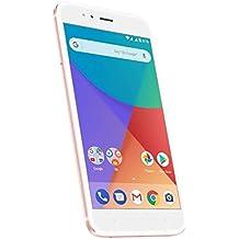 """Xiaomi Mi A1 Smartphone 5.5"""" FHD, Memoria da 64 GB, 4GB RAM, Octa-core Snapdragon 625 2Ghz, 12MP Dual camera, Colore: Rosa/Oro"""