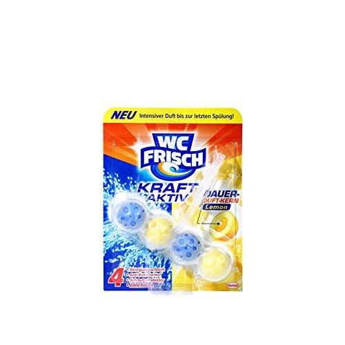 WC Frisch Kraft-Aktiv Duftspüler Lemon Paket, 10er Pack (10 x 50 g)