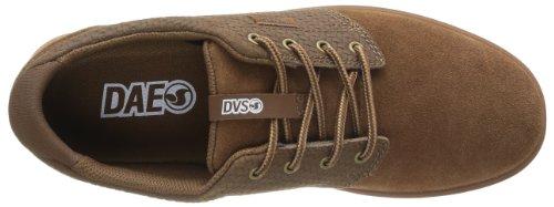 DVS Daewon 13 Vpr, Chaussures de skateboard homme Marron (Brown Weave Suede)