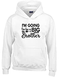 Im Going To Be A Big Brother Des gamins Hoodies Funny